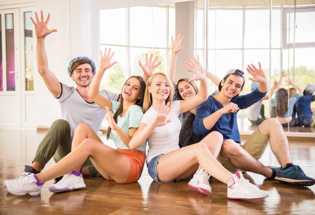 promote dance studio, happy dance students, dancers