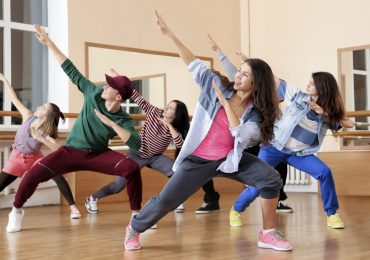 Dance Studio branding, Hip Hop Dancers Practice Dance