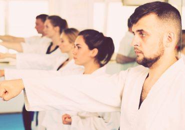 Marketing Martial Arts, adults practicing martial arts