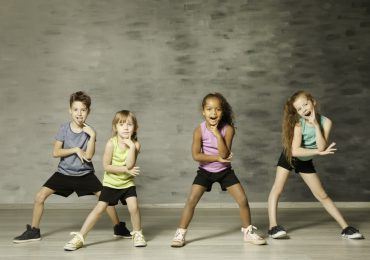 children's dance studio, children in dance studio