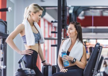 gym merchandise, sporty women