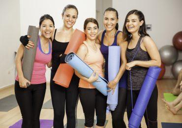 yoga students, women yogis