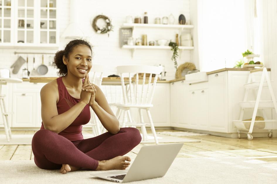 yoga blog, yoga owner writing a blog