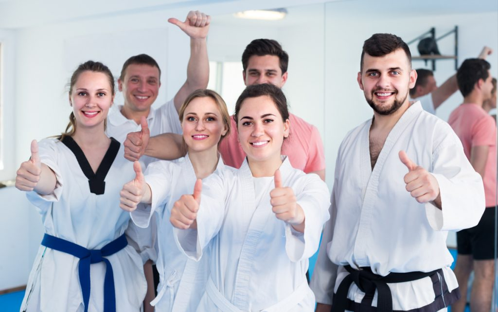 martial arts software, martial arts students