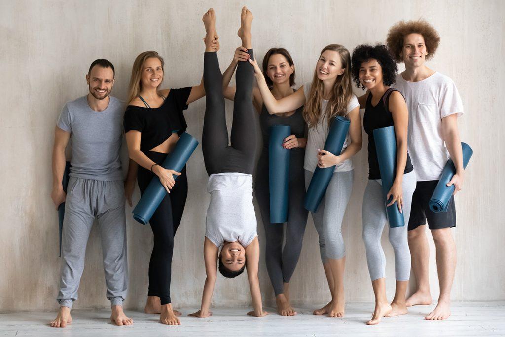 yoga studio software, yoga team
