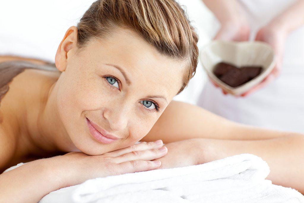 wellness center management software, smiling woman