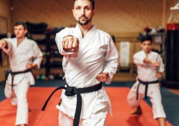 martial arts studio, martial arts fighters
