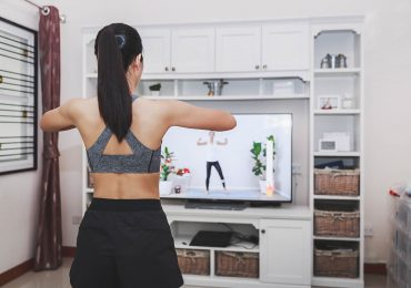 digital classes, home fitness exercise
