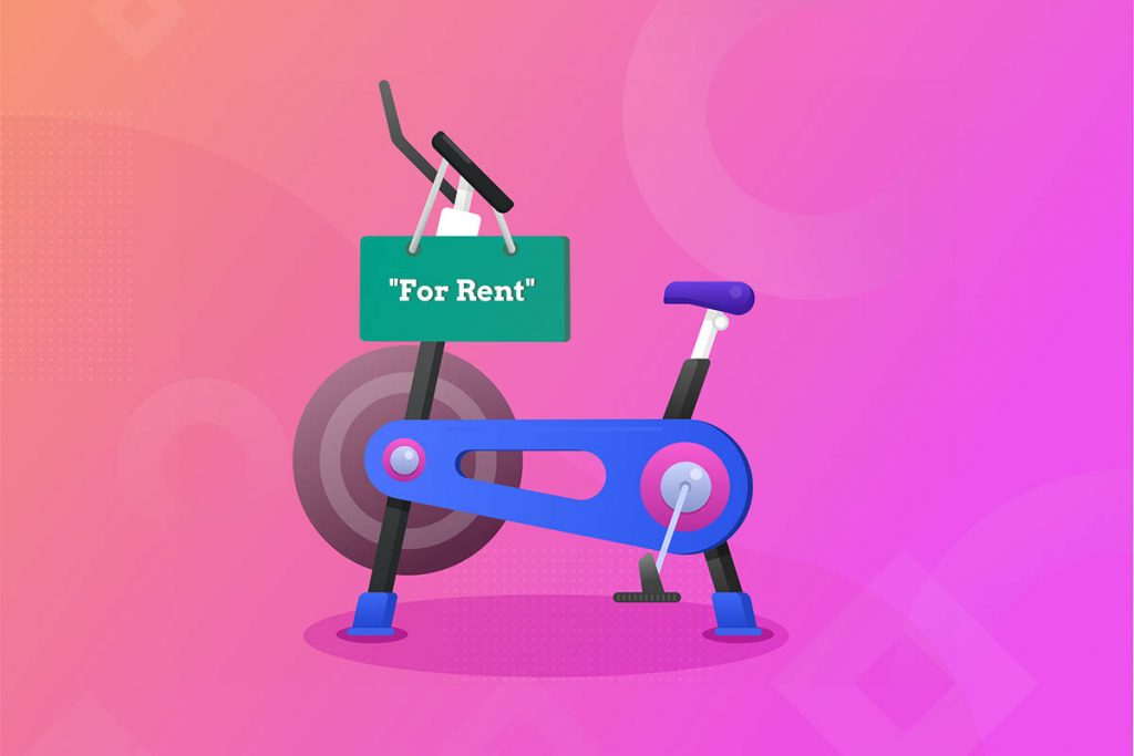renting out your equipment, rent bike