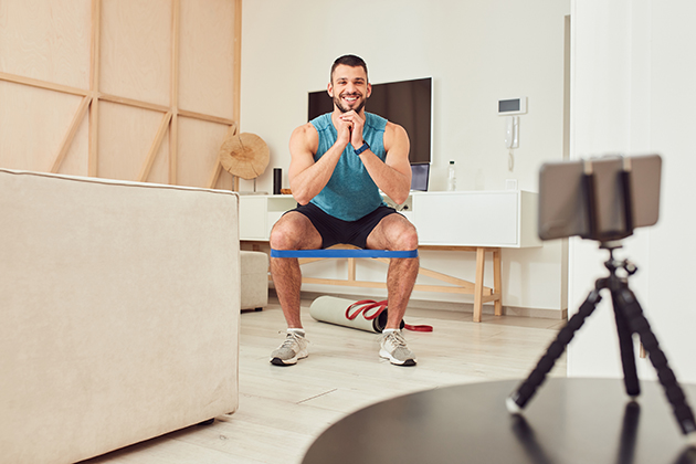 Reserve with Google, online personal trainer