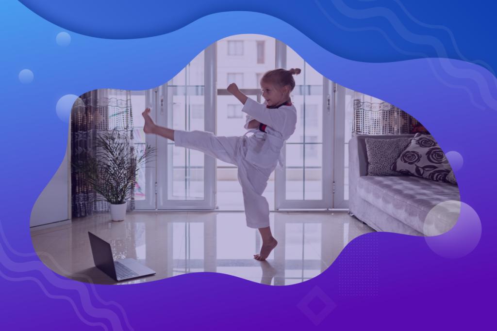 martial arts clients, virtual classes