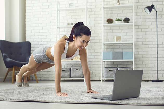 sales and marketing, online yoga at home