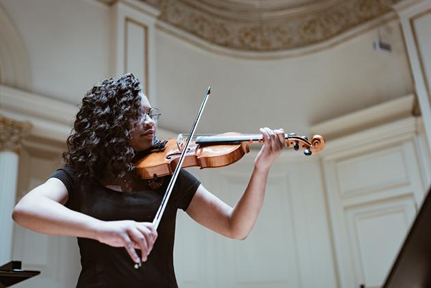 Morris Music Academy, MMA violin