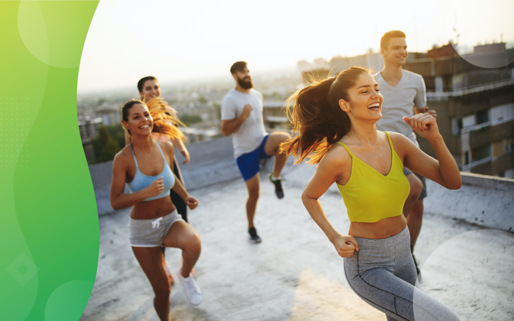 outdoor classes, running classes outside