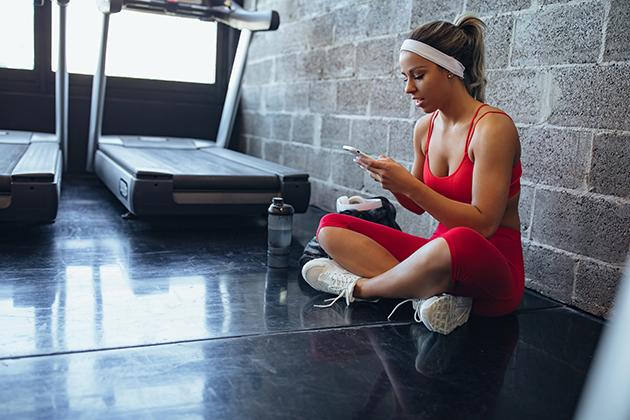 online booking, booking near treadmill