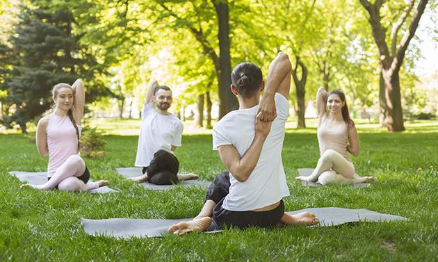 increase revenue, outdoor yoga class