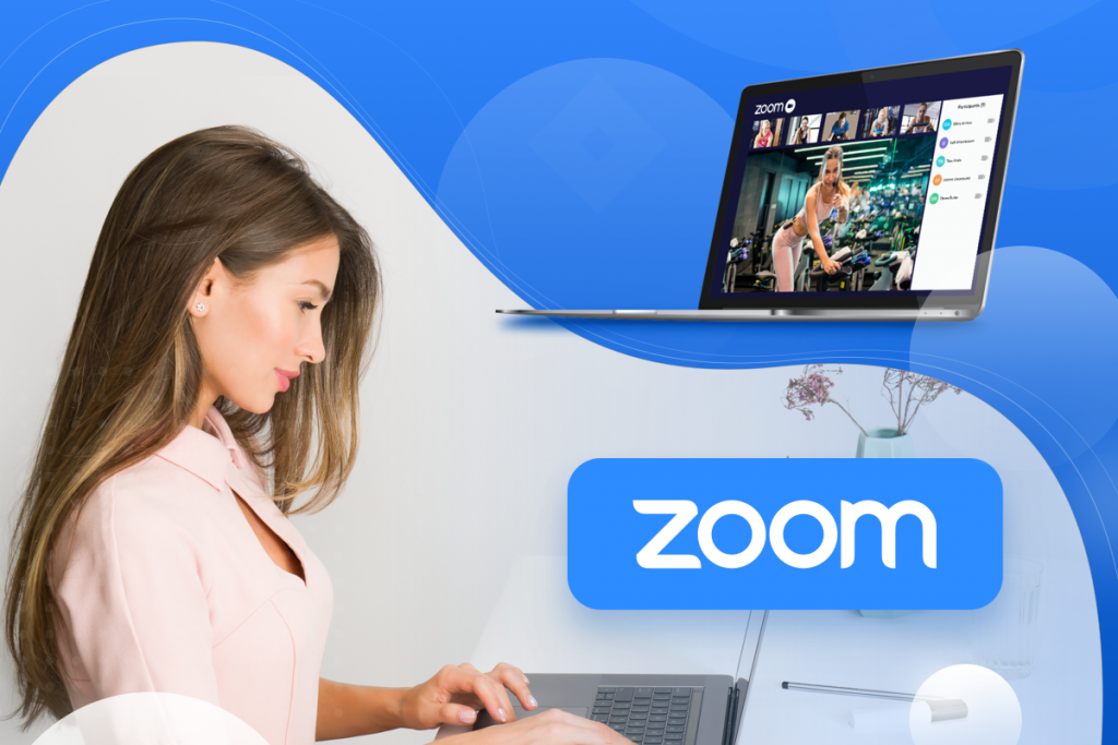 Zoom integration, business owner using the integration