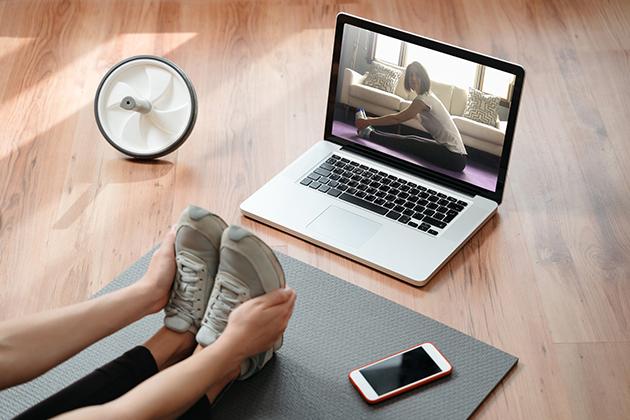 fitness software, online class