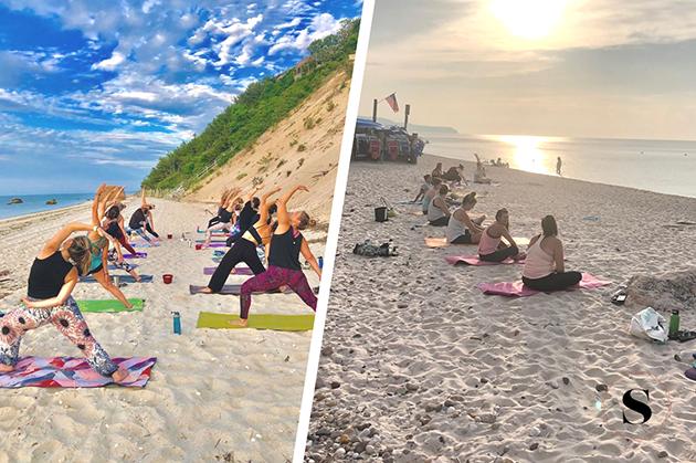 solntse hot yoga, outdoor yoga classes