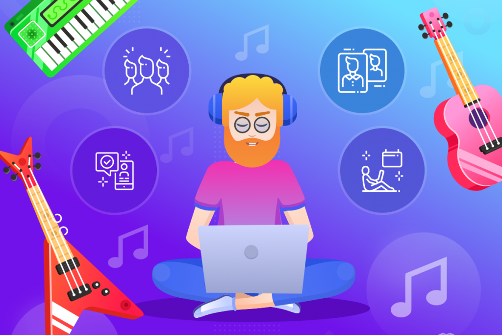 music school, music school software features blog