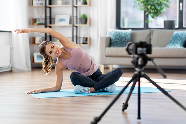 increase profits, blogger streaming online yoga