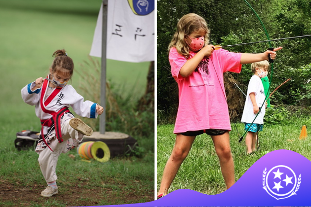 harvest martial arts, split shot archery and martial arts