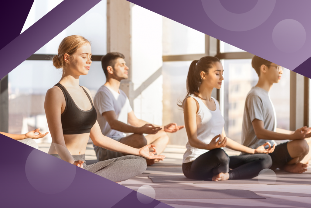 managing capacity with wait lists, yoga class with people