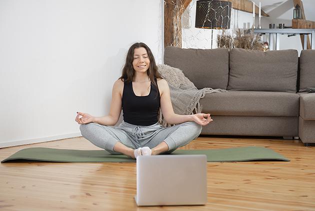 deliver your virtual services, online yoga