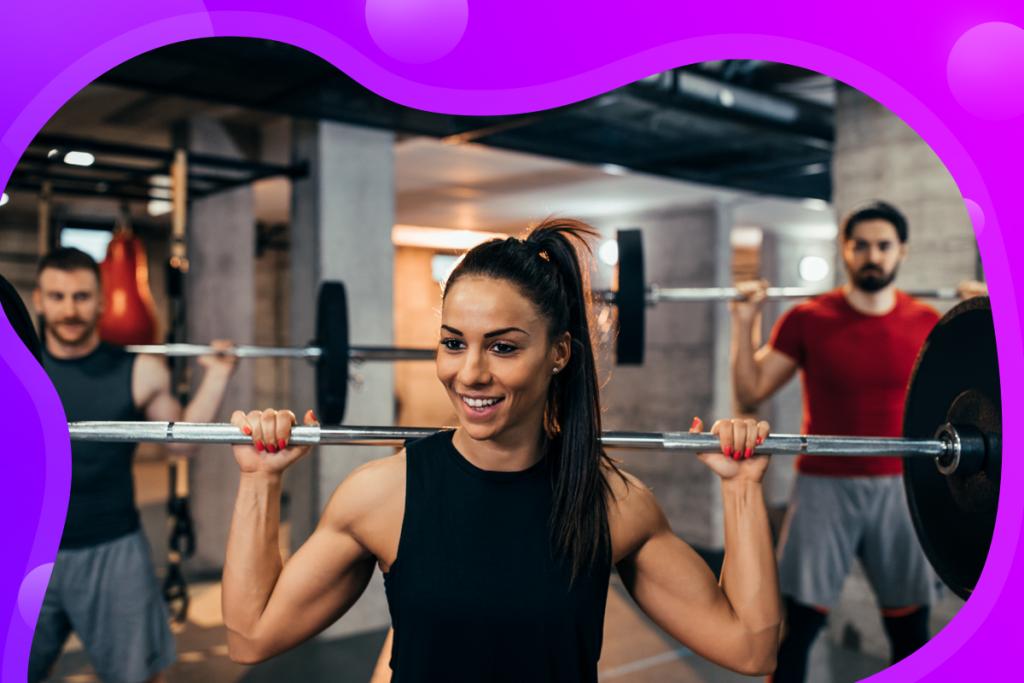 referral program, happy gym client