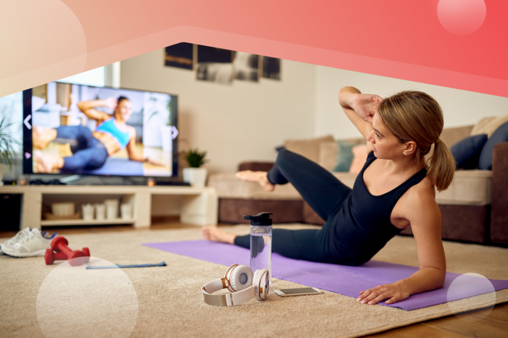 fitness classes on demand,