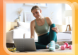 personal trainer trends, woman trainer at computer