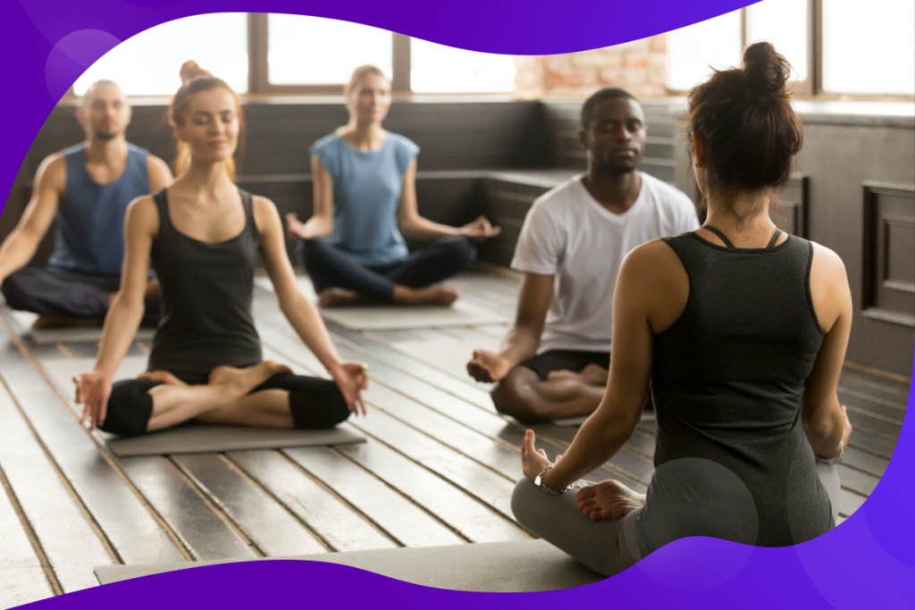 growth in your business, large yoga class
