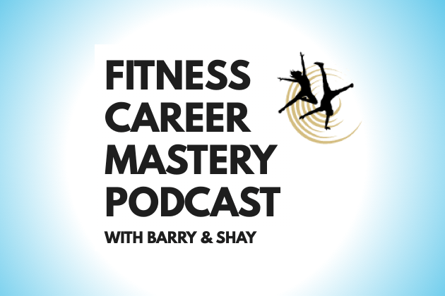 fitness business podcasts, fitness career mastery logo