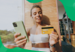 cognitive biases, fitness woman making a purchase