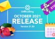 October 2021 Release Version 21.50