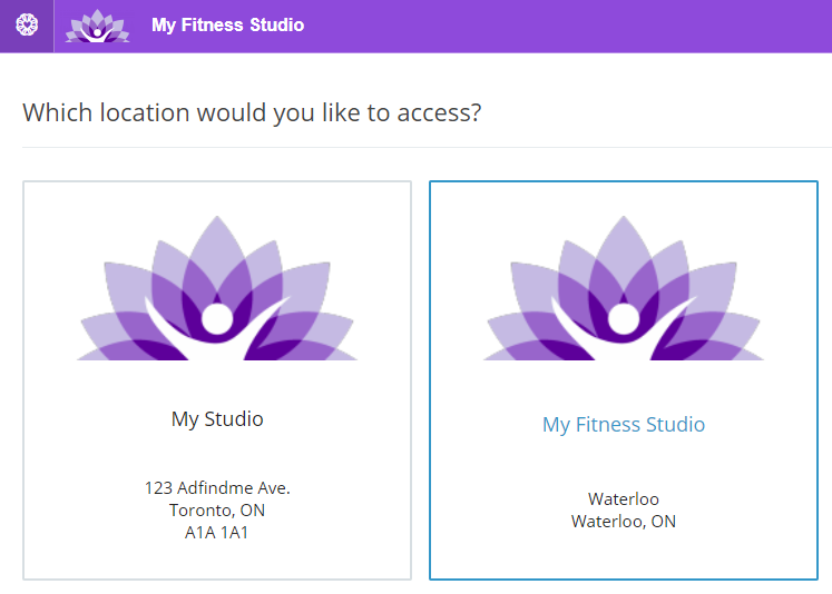Staff member login (Multiple locations) - WellnessLiving Support