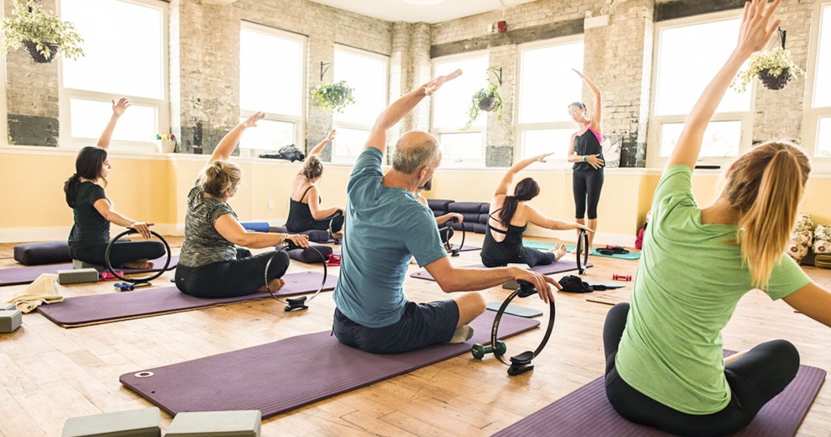 mindbody to wellnessliving, Fitness class at Generate