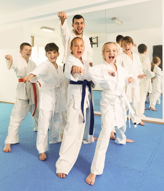martial arts profitable, happy students
