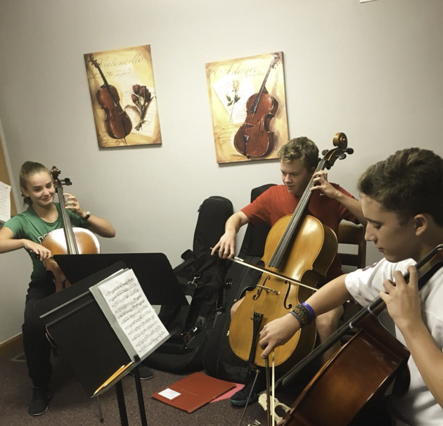 indian springs academy of music, strings class