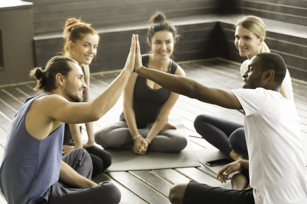 loyalty program, yoga instructor and class