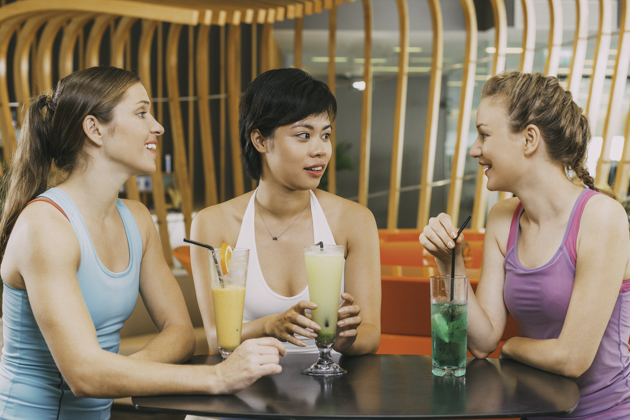 marketing ideas for Pilates studios, Post-workout juice