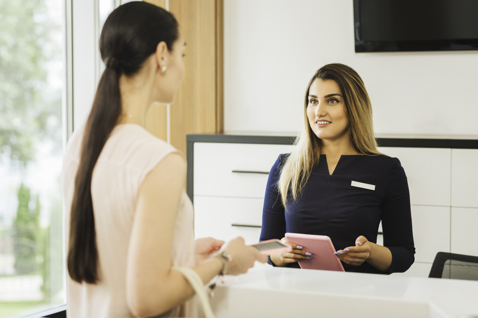 difficult clients, front desk customer service