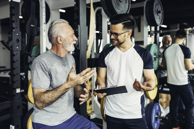 personal training business, Personal trainer for seniors