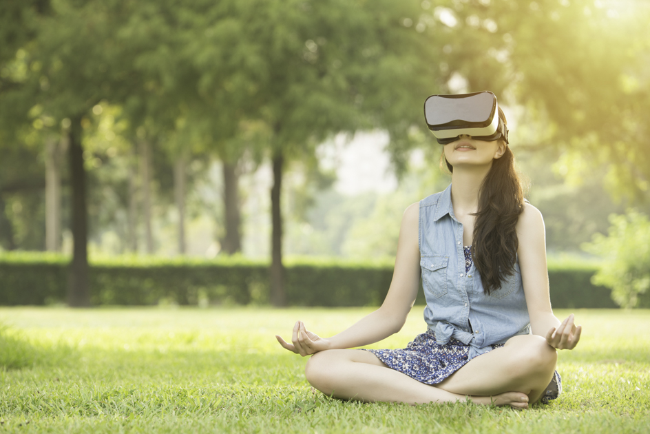 Health and wellness trends, virtual meditation