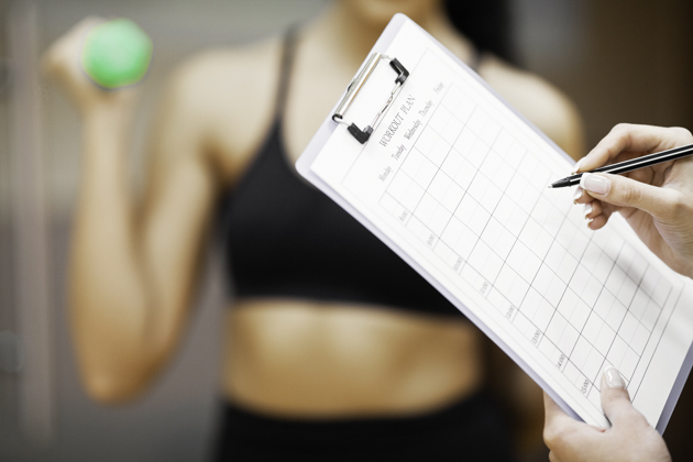 personal trainer mistakes, recording fitness progress