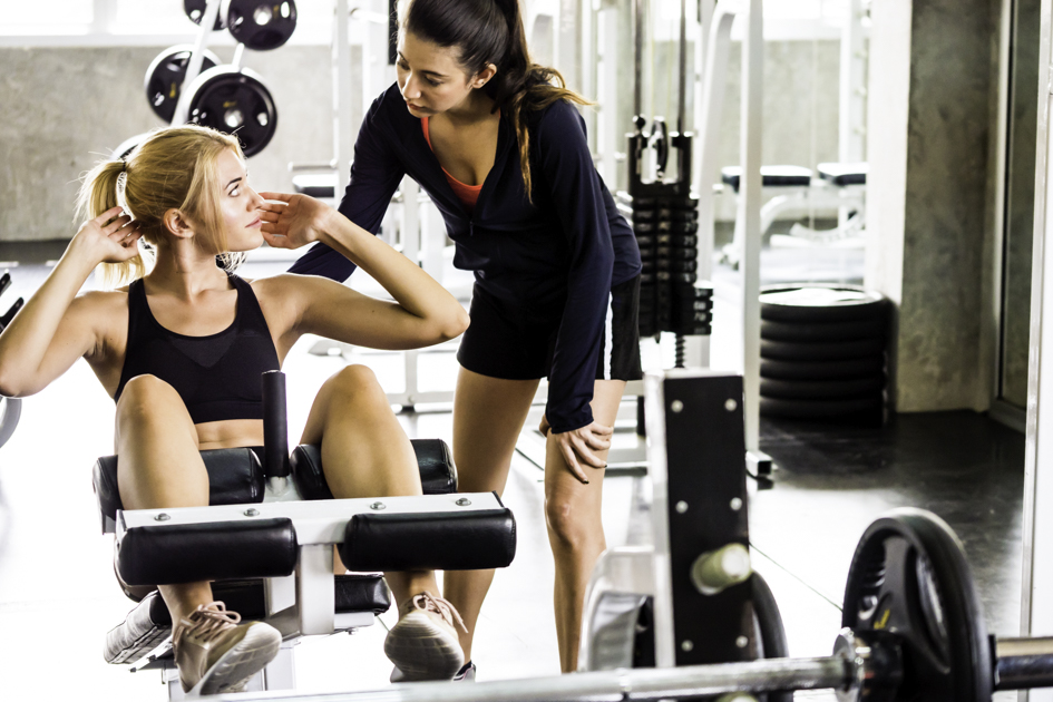 personal trainer mistakes, gym with personal trainer