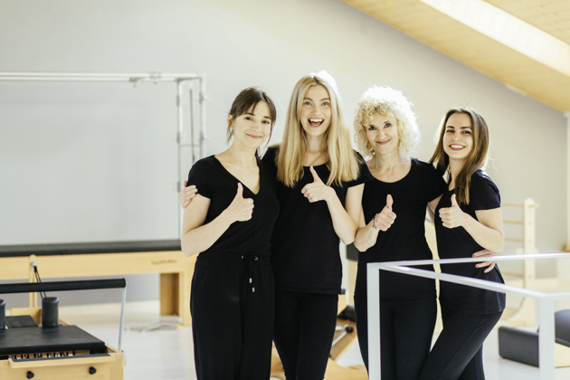 Pilates studio competition, Pilates studio staff