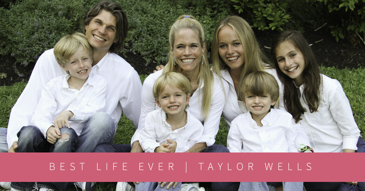 law of attraction business, Taylor Wells and her family