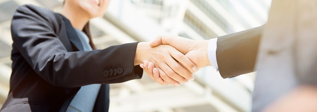 music school management software, people shaking hands