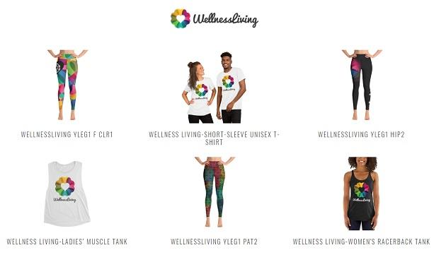 will jones, wellnessliving merchandise